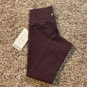 "lululemon athletica Pants - 【SOLD】Wunder Under Full-On Luon Crop 21"" High Rise"